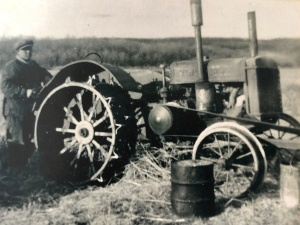 In the 1930s through to laye 1950s a gasoline tractor replaced the steam engine